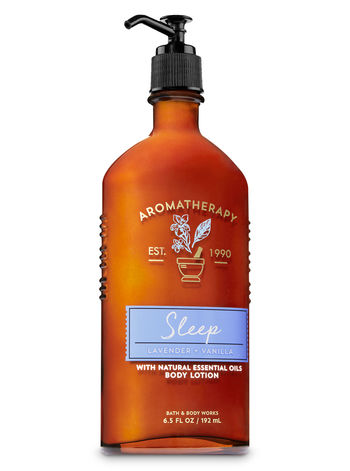 Body Lotion - Aromatherapy - Sleep - Lavender & Vanilla - 192ml