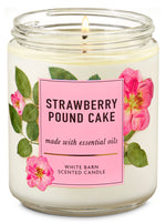 1-Docht Kerze - Strawberry Pound Cake - 198g