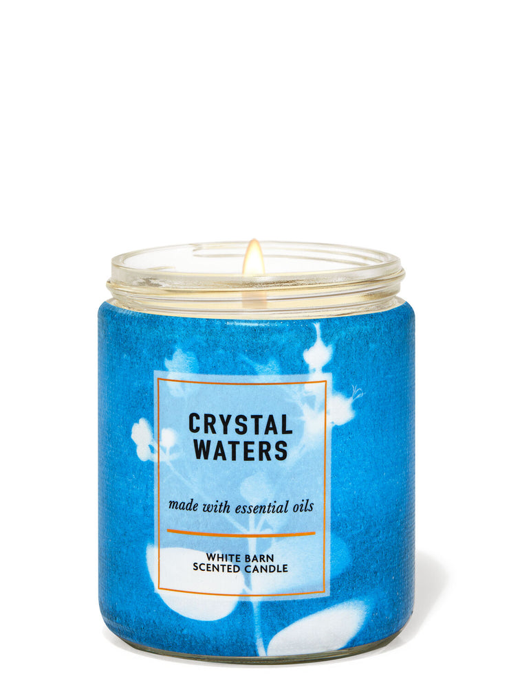 1-Docht Kerze - Crystal Waters - 198g