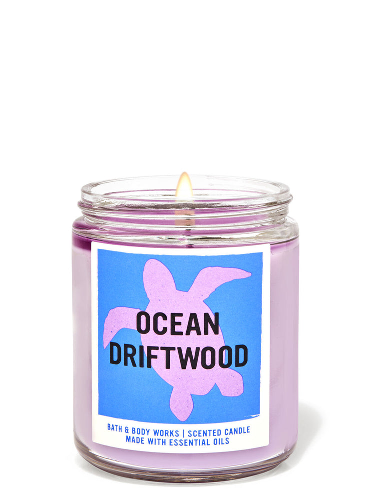 Bath & Body Works - 1-Docht Kerze - Ocean Driftwood