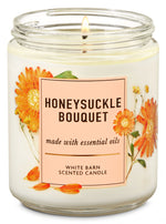 1-Docht Kerze - Honeysuckle Bouquet - 198g