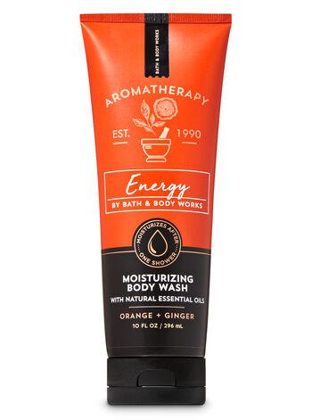 Body Wash - Aromatherapy - Energy - Orange Ginger - 296ml