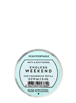 Auto-Lufterfrischer Refill - Endless Weekend - 6ml