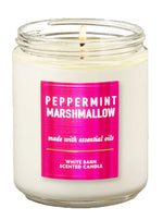 Bath & Body Works - 1-Docht Kerze - Peppermint Marshmallow