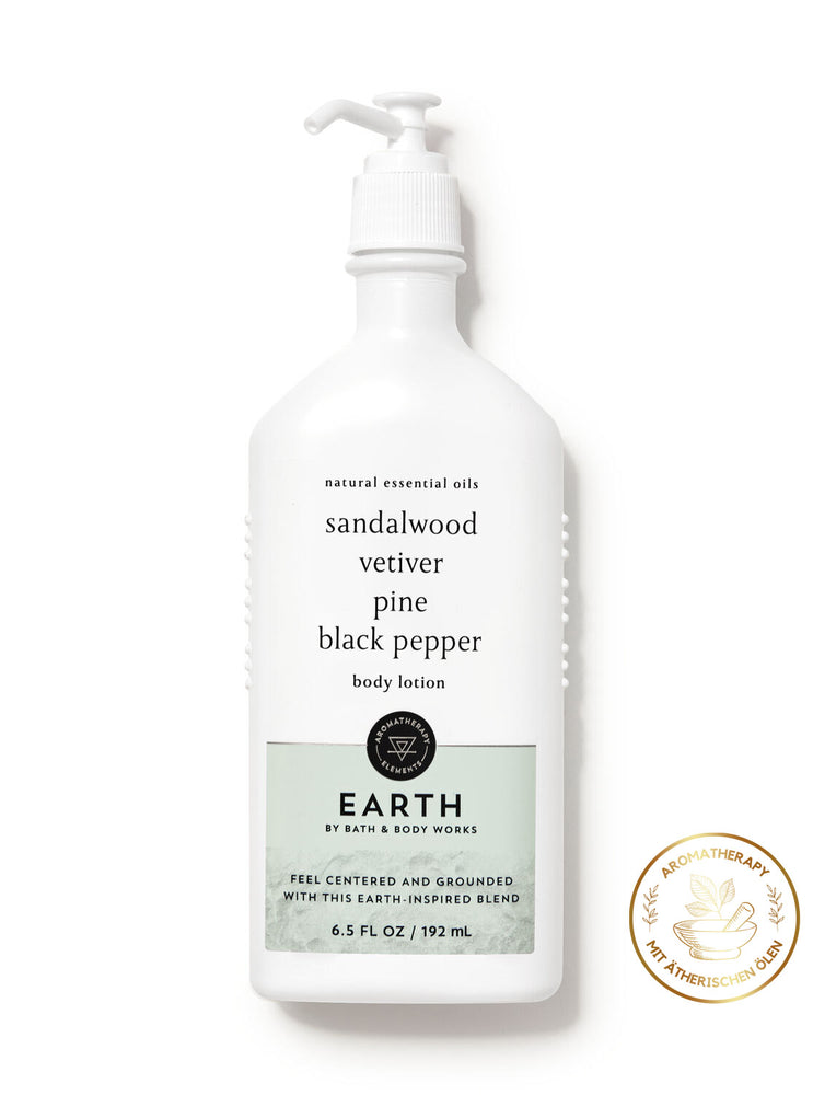 Body Lotion - Aromatherapy - EARTH - 192ml