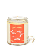 1-Docht Kerze - Aromatherapy - Orange Ginger - 198g