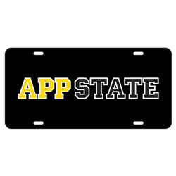 Appalachian APP STATE Reflective Car Tag