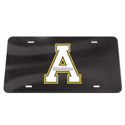 Appalachian Crystal Mirror License Plate
