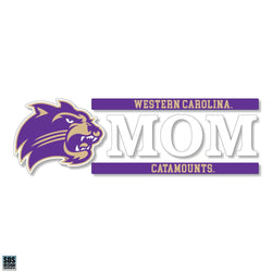 "WCU 6""x2"" Mom Auto Vinyl Decal"