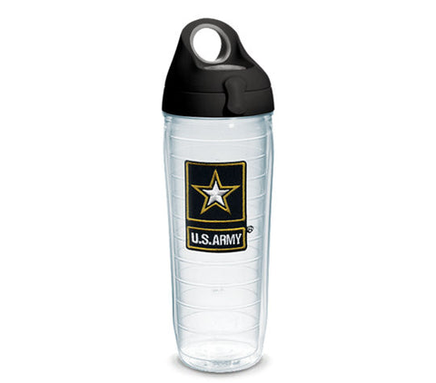Army 24 oz. Clear Water Bottle