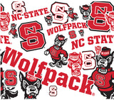 NC State 24 oz. All Over Wrap Water Bottle