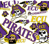 ECU 24 oz. All Over Wrap Water Bottle