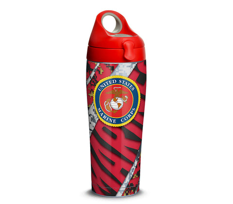Marines 24 oz. Stainless Steel Water Bottle