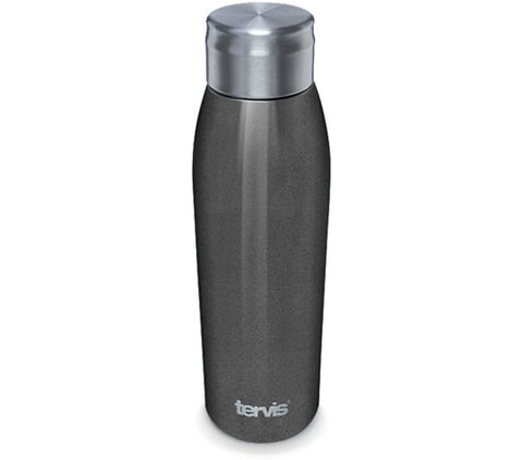 Tervis 17 oz. Space Gray Stainless Steel Slim Bottle