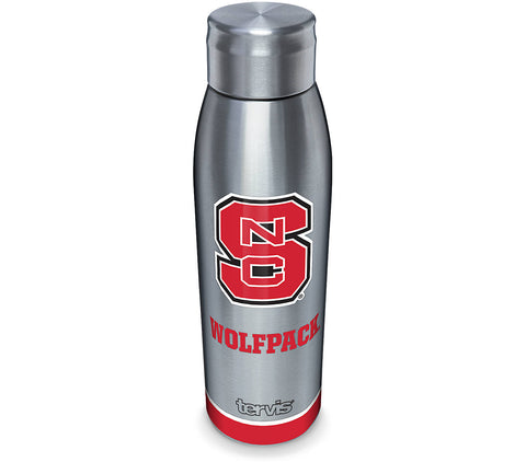 NC State 17 oz. Slim Stainless Steel Bottle