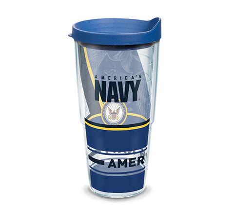 Navy 24 oz. Forever Proud Wrap Tumbler