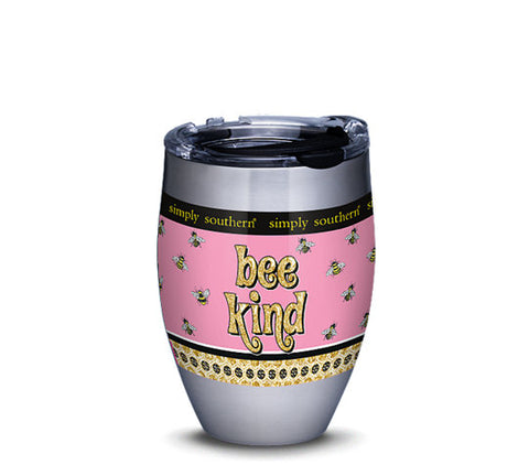 SS 12 oz. Bee Kind Stainless Tumbler