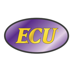 "ECU 2"" Oval Hitch Cover"