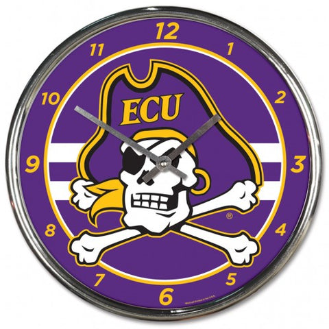 ECU Chrome Clock (New Design)