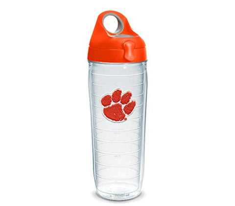 Clemson Clear Water Bottle