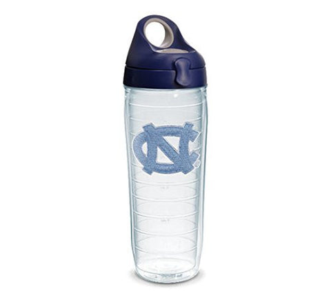 UNC 24 oz. Clear Water Bottle