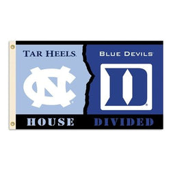 Duke/UNC House Divided 3x5 Flag