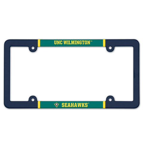 UNCW Plastic License Plate Frame