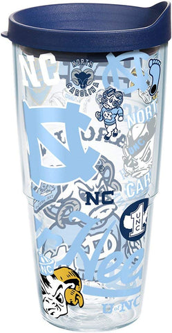 UNC 24 oz. All Over Wrap Tumbler