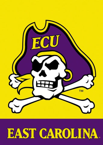 ECU 2-Sided Garden Flag