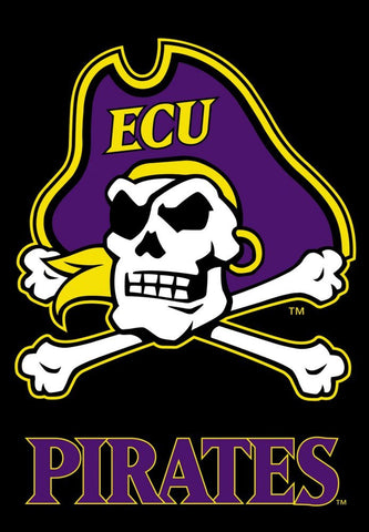ECU 2 -Sided Banner Flag 28 x 40