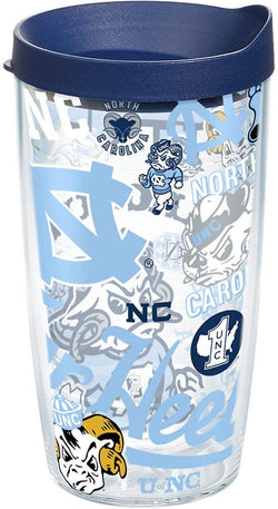 UNC 16 oz. All Over Wrap Tumbler