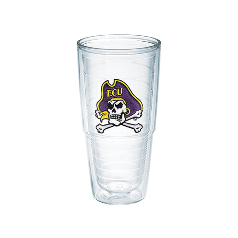 ECU 24 oz. Clear Tumbler