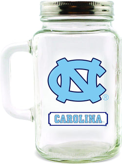 UNC Glass Mason Jar - 30 oz.