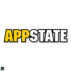 "Appalachian ""APP STATE"" Vinyl Decal"