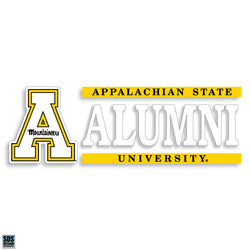Appalachian Alumni Vinyl Decal