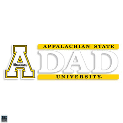 "Appalachian 6""x2"" Dad Vinyl Decal"