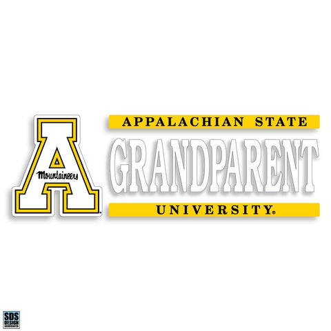 "Appalachian 6""x2"" Grandparent Vinyl Decal"