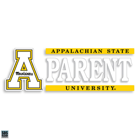 "Appalachian State 6""x2"" Parent Auto Vinyl Decal"