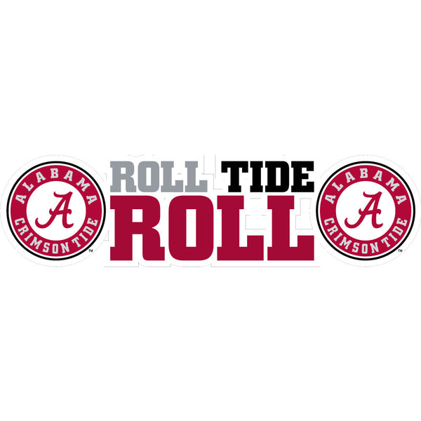 "Alabama ""Roll Tide Roll"" Dizzler Ultra Decal"