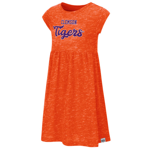 Clemson Toddler Girls Gwen Dress