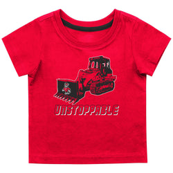 NC State Infant Boys Gravel Pit Tee