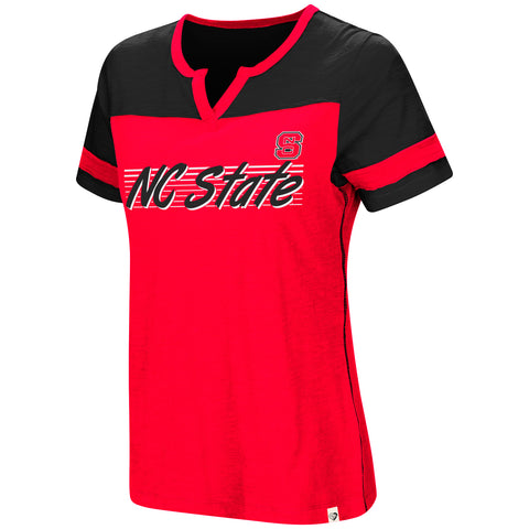 NC State Women's Coach V-Notch Tee