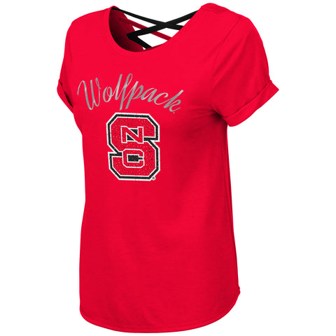 NC State Women's Milan Strappy Tee