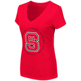 NC State Women's Parma V-Neck Tee
