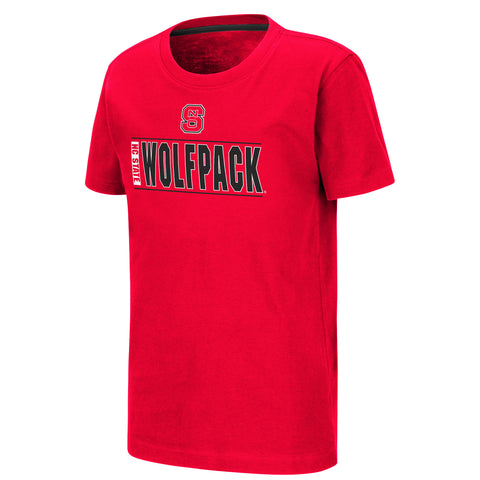 NC State Youth Boys Mesmo S/S Tee