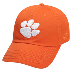 Clemson Crew Washed Cotton Adj. Hat