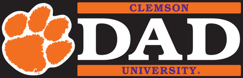 Clemson Dad Decal