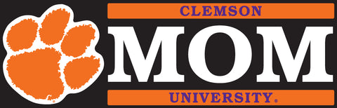 Clemson Mom Decal