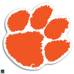 Clemson Paw Decal