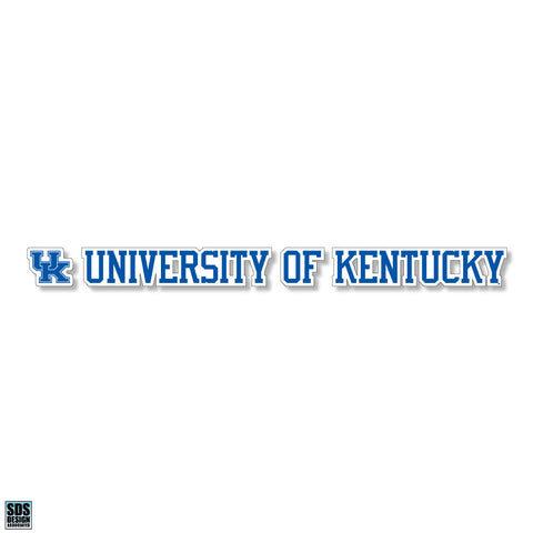 "Kentucky 20""x2"" Vinyl Decal"